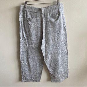 COS Grey Culottes Sweatpants Size small